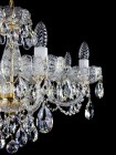 Cut Glass Crystal Chandelier L037CE  - detail