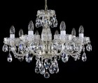 Cut Glass Crystal Chandelier L037CE  - silver