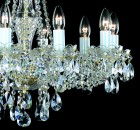 Traditional Crystal Chandeliers  AL179 - candle detail