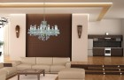 Living Room Crystal Chandeliers  AL179