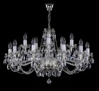 Traditional Crystal Chandeliers  L1059CE - silver