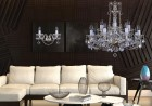 Living Room  Cut glass crystal chandelier  L018CE