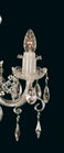 Traditional Crystal Chandeliers EL140402 - candle detail