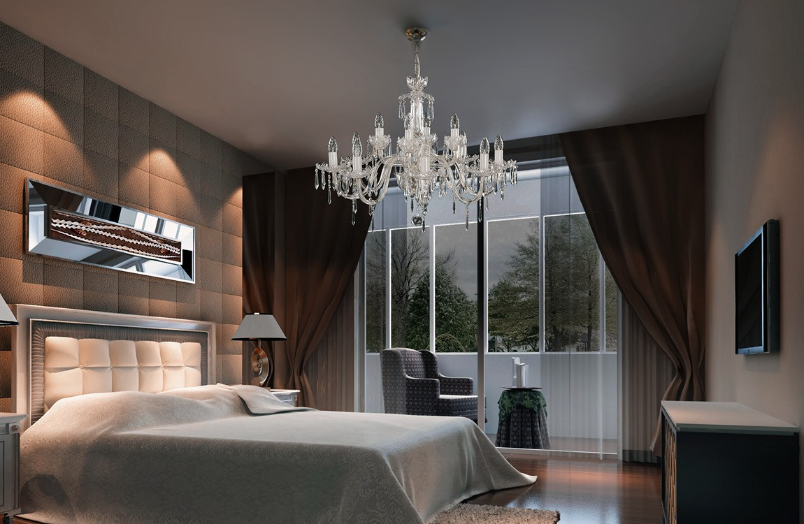 Bedroom Chandeliers and Ceiling Lights EL6011219NH