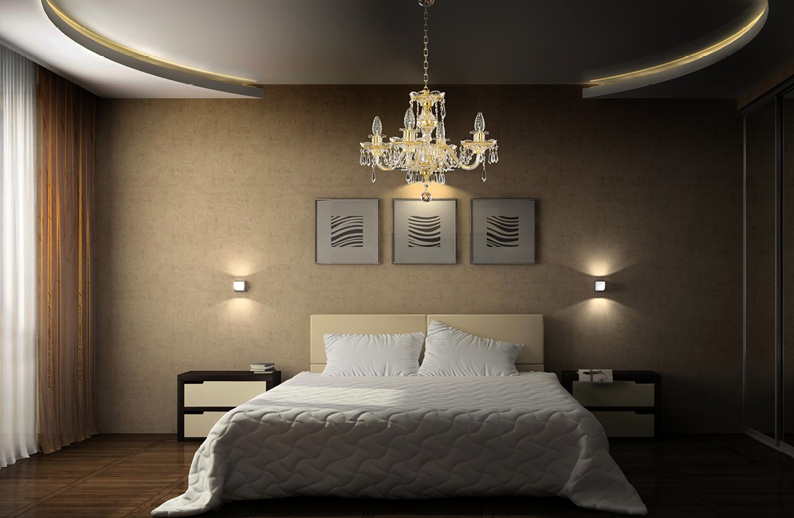 Bedroom Chandeliers and Ceiling Lights EL650403