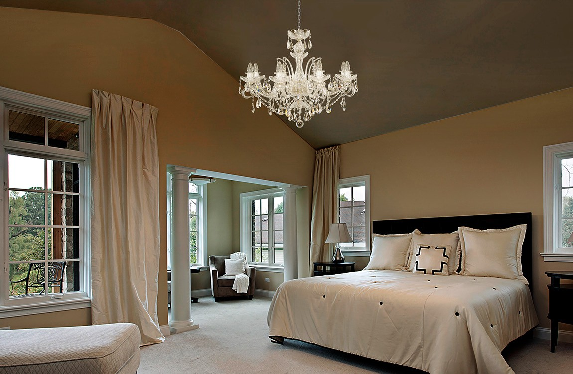 Bedroom Chandeliers and Ceiling Lights EL665819
