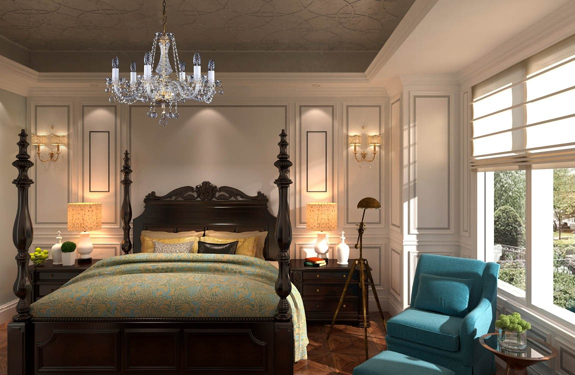 Bedroom Chandelier L10065CE