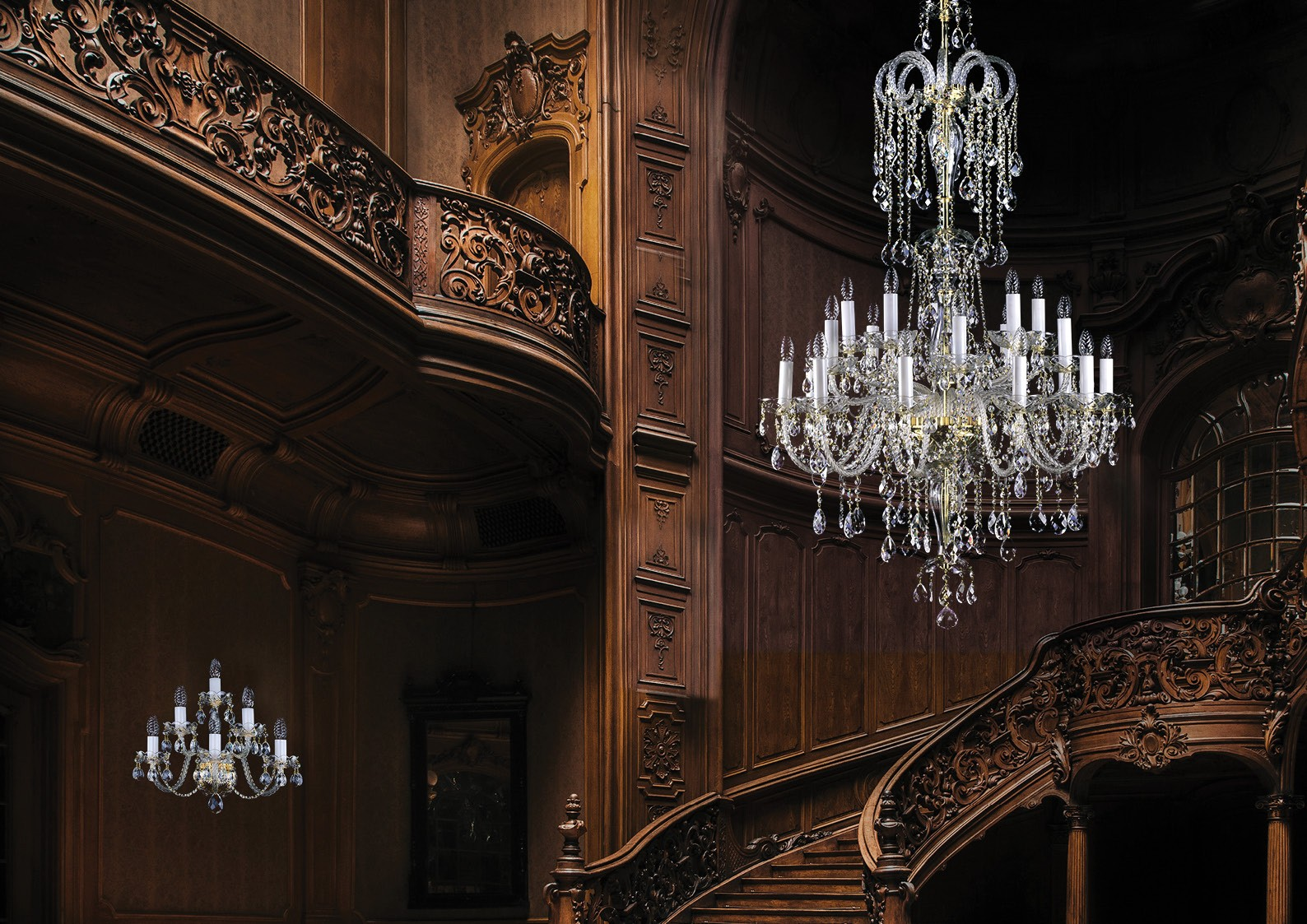 Staircase chandelier L003