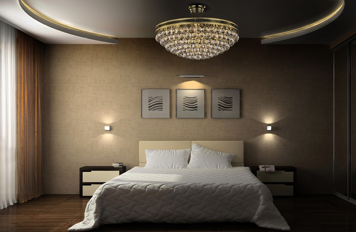Ceiling light for the bedroom L240
