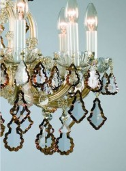 Details of crystal chandeliers Artcrystal Tomes