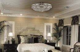 Ceiling lighting fixtures - a wide selection of lighting fixtures with trimmings