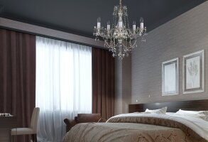 Bedroom Chandeliers and Ceiling Lights