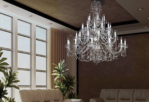 chandelier crystal traditional