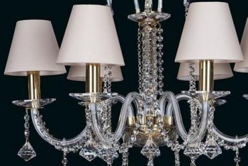 Chandeliers with Shades | Free transport in the EU | ARTCRYSTAL.CZ
