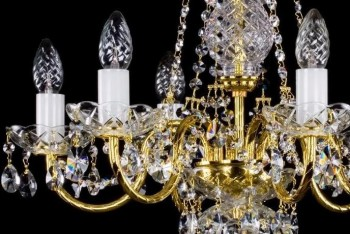 Chandeliers with Tubular Arms | Free transport in the EU | ARTCRYSTAL.CZ