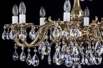 Cast Fitting Chandeliers | Free transport in the EU | ARTCRYSTAL.CZ