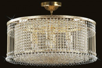 Ceiling Lights Drum | Free transport in the EU | ARTCRYSTAL.CZ