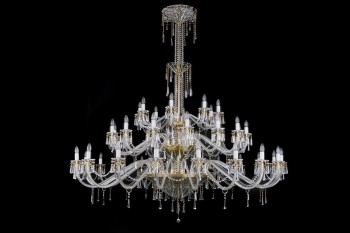 Large Crystal Chandelier | Free transport in the EU | ARTCRYSTAL.CZ