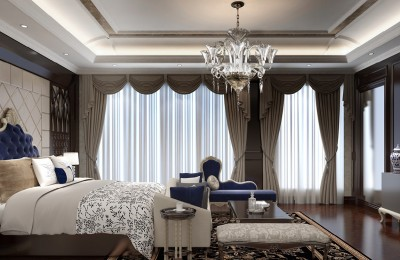 Bedroom Chandeliers and Ceiling Lights EL6758+303N