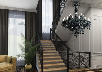 Staircase chandelier contemporary TX840080024