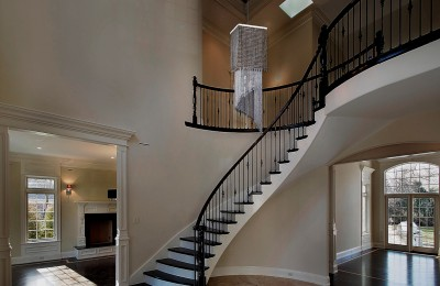 Staircase chandelier contemporary L433