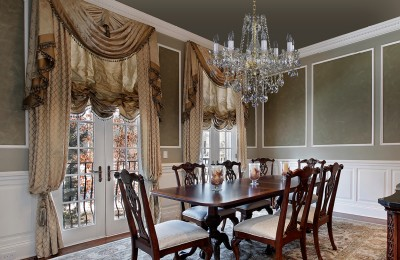 Dining table crystal chandelier L096