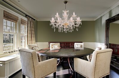 Crystal chandelier dining room EL6811201