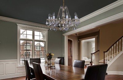 Crystal dining room chandelier L16048
