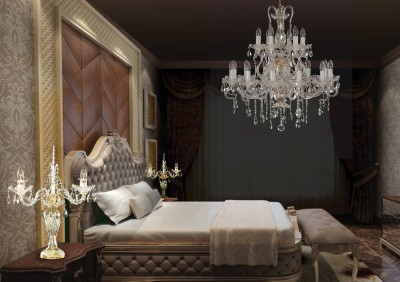 Bedroom ceiling chandelier EL6611819