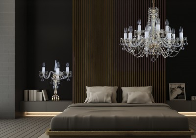 Crystal chandelier bedroom lighting L10058