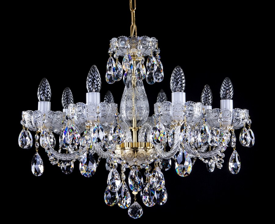 Cut Glass Crystal Chandelier L037CE