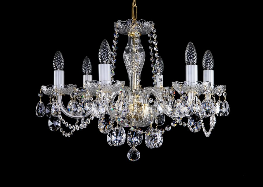 Cut glass crystal chandelier L16052CE