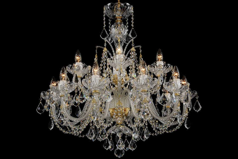 Crystal chandelier LUCH15SW