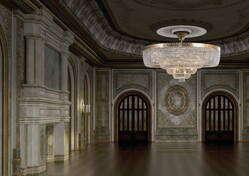Photogallery - chandeliers for public buildings