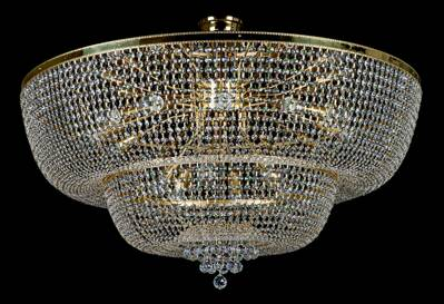 Chandelier with strass trimmings L203CE