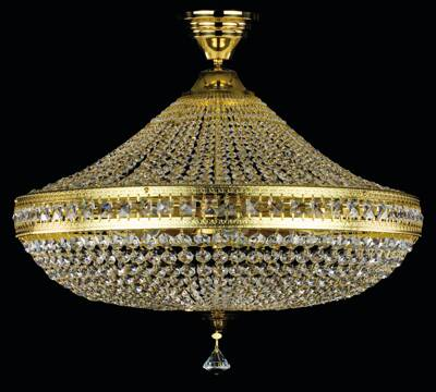 Chandelier with strass trimmings L232CE