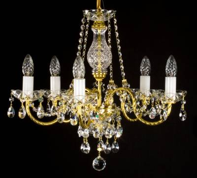 Chandelier with metal arms L181CL