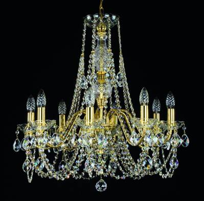 Chandelier with metal arms L186CE