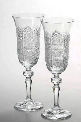 Cut wine glass 2pcs 12116-150ml
