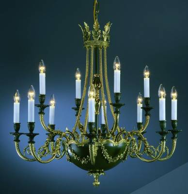 Art Nouveau chandelier TH123