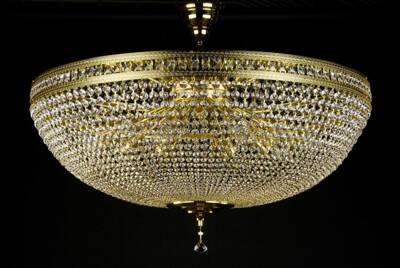 Chandelier with strass trimmings L225CE