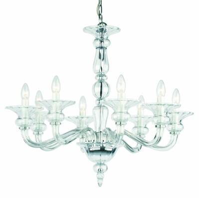 Glass chandelier Odetta 8