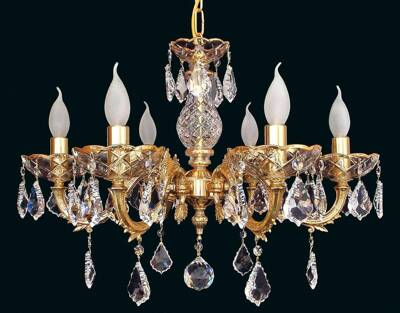 Brass chandelier EL857604