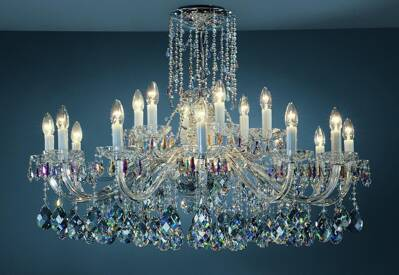 Luxury cut crystal chandelier PL028