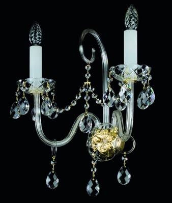 Crystal wall lamp N011CE