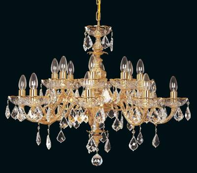 Brass chandelier EL8571604