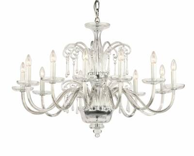 Glass chandelier RY4283646-P