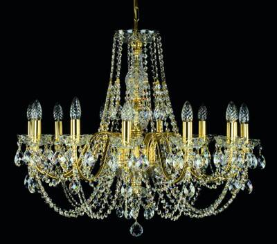 Chandelier with metal arms L184CE