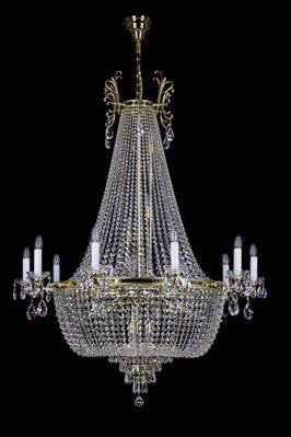 Large crystal chandeliers L189CE