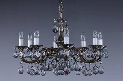 Chandelier cast brass L340CL 8007